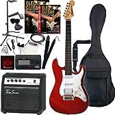 Rayfield レイフィールド エレキギター サウンドステーションオリジナル RST-320/MRD 初心者入門スタンダードセット