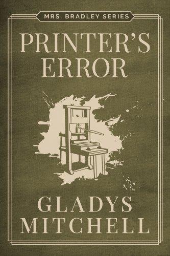 Printer's Error (Mrs. Bradley) PDF