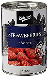 Epicure Strawberries in Syrup, 411g