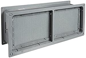 Norwesco 596137 7.25-Inch by 18.5-Inch ABS Foundation Vent