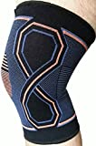 Kunto Fitness Knee Brace for Sports, Knee Pain, Arthritis, Injury Recovery and More! (Large)