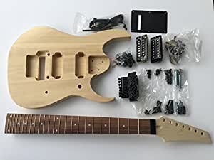 diy electric guitar kit 7 string build your own guitar musical instruments. Black Bedroom Furniture Sets. Home Design Ideas