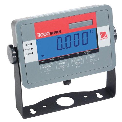 Ohaus Abs Lcd Display Metal Weighing Economy Indicator, 5 To 20000Kg