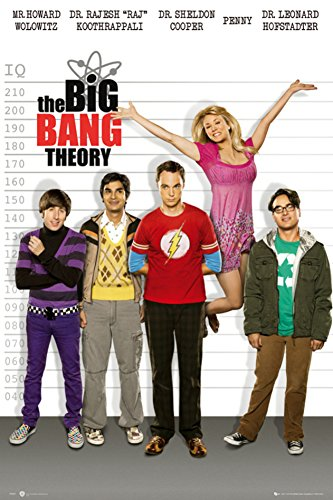 The Big Bang Theory-Line Up Poster 24 x 36in (Big Bang Theory Penny Poster compare prices)
