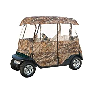 Classic Accessories Fairway Deluxe 4-Sided 2-Person Golf Cart Enclosure, Camo by Classic Accessories