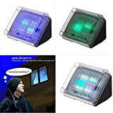 Fake TV Extra Bright Burglar Deterrent TV Simulator Simulates the Light of a 40 Inch LCD / HdTV Thief Prevention Device Burglar Intruder Deterrent