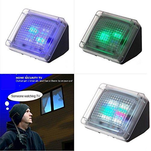 AGPTek® LED TV Simulator, Fernseh Attrappe-Fake, Einbruchschutz, Home Security, Lichtsensor und Timer, 3 Programme wählbar, 20 farbige LEDs - 2