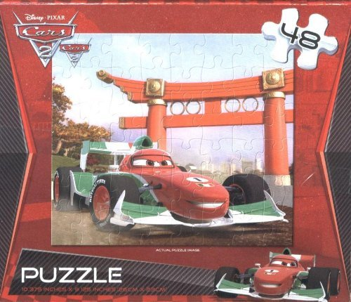 Disney Cars 2 Francesco Bernoulli Puzzle 48 Pieces by Cardinal - 1