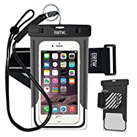 EOTW Waterproof Case Dry Bag Cell Phone Pouch With Military Lanyard Strap For Kayaking Skiing Sledding Boating Surfing For iPhone 6 6S Plus 5S SE Samsung Galaxy S7 S6 S5 S4, Note 7 5 4, LG G4 G5 G3 by EOTW