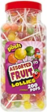 POSH Assorted Fruit Lollies 200 pops per jar