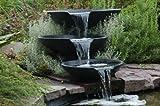 Cascade Novia Scotia avec 3 vasques, les accessoires et la pompe...