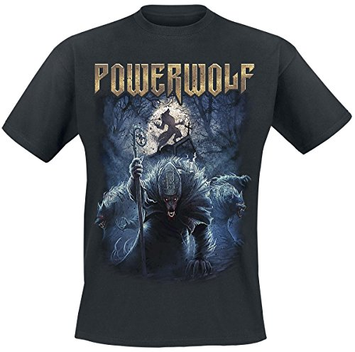 Powerwolf Night Of The Werewolves T-Shirt nero L
