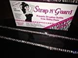 New Two Row Crystal Pin-Straps ~ Newest Hot Style 2013! Crystal Diamante Versatile Straps with a Bling! StrapN'Guard® Exclusive Brooch Pin Hooks Prevents Strapless Falling–Perfect for Wedding Dresses, Prom Dress, Party Dress, Bridesmaids Dresses, Gift, etc thumbnail