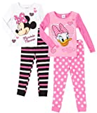 Disney Toddler 4-pc. Daisy & Minnie Pajama Set