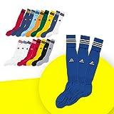 アディダス(adidas) 3ストライプ ゲームソックス 3足セット TR616 メンズ レディース キッズ W44421(Rブルー/ホワイト) 25-27cm