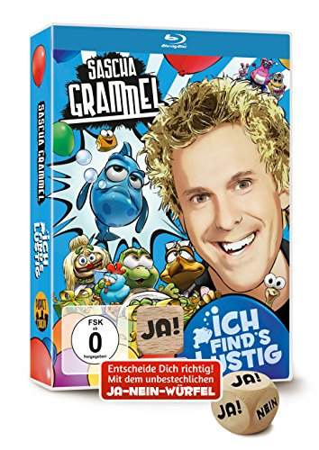 Sascha Grammel - Ich find's lustig  (mit Ja-Nein-Würfel) [Edizione: Germania]