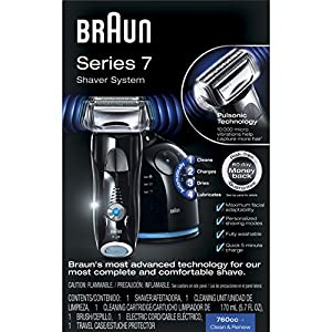Braun Series 7 760cc-6 Electric Foil Shaver with Clean&Charge Station, Electric Men's Razor, Razors, Shavers