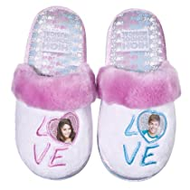 Fuzzy Slipper Gift Shop - High School Musical Slippers - White :  high school musical slippers white school fuzzy slippers