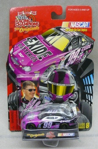"Racing Champions - ""The Originals"" - 1999 - No. 99 - Jeff Burton - Exide Ford Taurus - 1:64 Scale Collectible Die-cast Car"