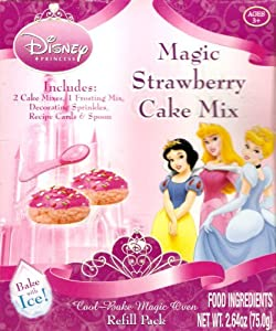 Disney Princess Cool Bake Magic Oven Cake Mixes