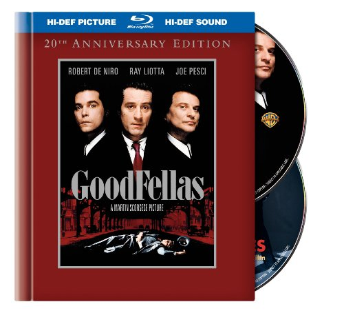 Cover art for  GoodFellas (20th Anniversary Edition) [Blu-ray]