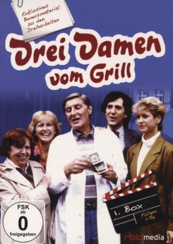 Drei Damen vom Grill - Box 1/Folge 1-26 [6 DVDs]