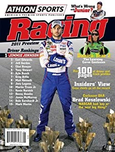 Jimmie Johnson unsigned Athlon Sports 2011 NASCAR Racing Preview Magazine by Hall of Fame Memorabilia