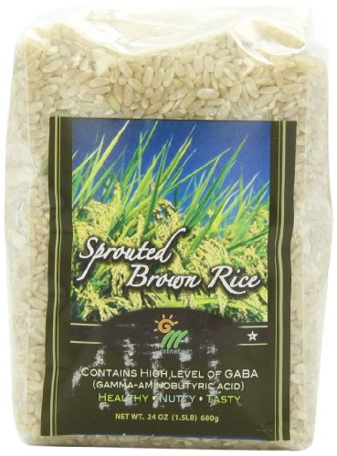 gogo rice Sprouted Brown Rice, 1.5-Pound Packages (Pack of 6)
