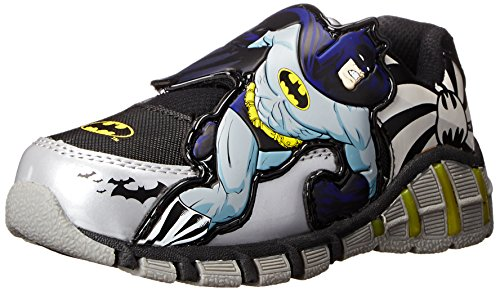 DC Comics Batman 307 Lighted athletic sneaker (Toddler/Little Kid) at Gotham City Store