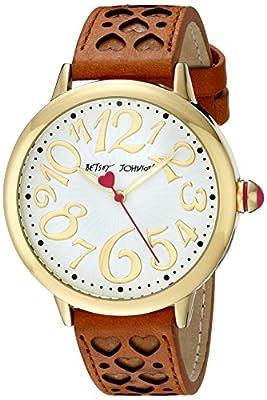 Betsey Johnson Women's BJ00540-02 Analog Display Quartz Brown Watch from Betsey Johnson Watches