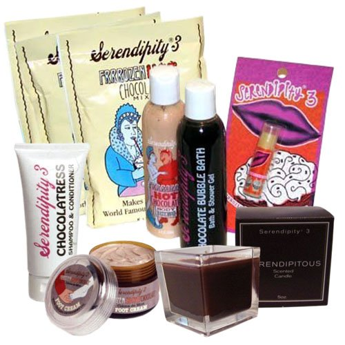 Serendipity 3 Dipped in Chocolate - Indulgent Body Pampering Package