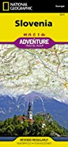 Slovenia: National Geographic: Adventure Map (National Geographic: Adventure Map (3311))