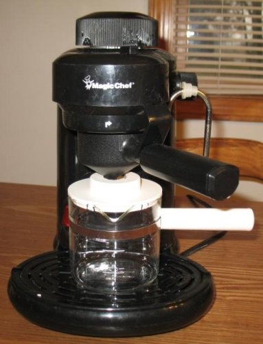 magic chef espresso machine