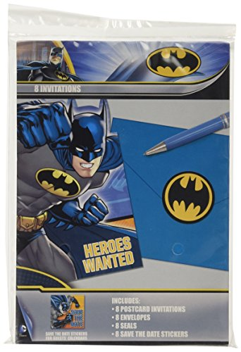 DesignWare Batman Invitation, Multicolor