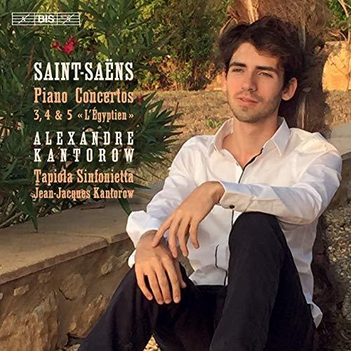 SACD : SAINT-SAENS / KANTOROW - Piano Concertos 3-5