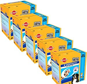 Dentastix Large Dogs 56 Pack x 5 (280 sticks)