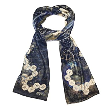 Velvet Scarf by Neil Bottle (Ink)||RF10F