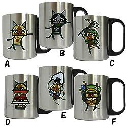 モンスターハンター ステンレスマグカップ(ネコートさん)