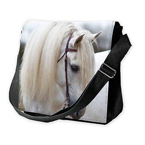 chevaux-10025-cheval-blanc-unisexe-noir-sublimation-sacoche-bandouliere-reporter-bag-avec-bandoulier