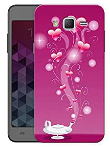 "Humor Gang Heart Genie Printed Designer Mobile Back Cover For ""Samsung Galaxy Grand 2"" (3D, Matte, Premium Quality Snap On Case)"