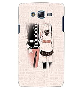 PrintDhaba Couple D-3199 Back Case Cover for SAMSUNG GALAXY J7 (Multi-Coloured)