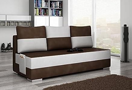 Divano Atila divano Divano ad angolo divano ad angolo con Funzione letto 01294