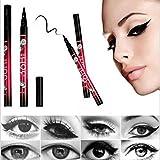 Feature: Quantity: 1 Package Content: 1X Black Eyeliner Waterproof Liquid Make Up Beauty Comestics Eye Liner Pencil Pen
