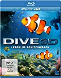 Dive 3D - Leben im Schiffswrack (3D Version inkl. 2D Version & 3D Lenticular Card) [3D Blu-ray]