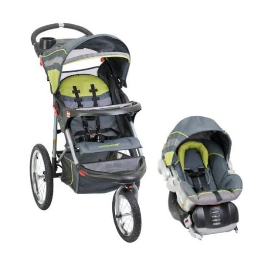 baby trend expedition swivel jogging stroller infant car seat travel. Black Bedroom Furniture Sets. Home Design Ideas