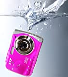 NEW WP5300 Pink Waterproof 12MP Digital Camera& Video Recorder(compatible with micro SD card)