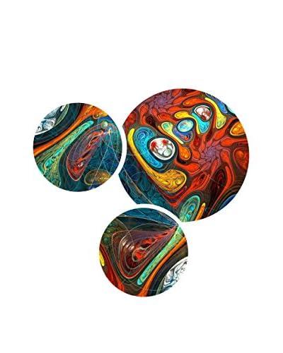 Decorange Set Pannello Decorativo 3 pezzi
