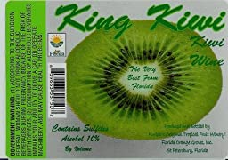 NV Florida Orange Groves King Kiwi Fruit Wine 750 mL