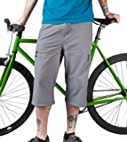 Men's Bicycle Commuter Pedal Pusher Capris