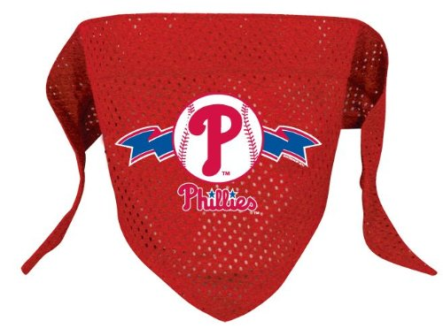 hunter-mfg-philadelphia-phillies-mlb-mesh-bandana-for-dogs-small
